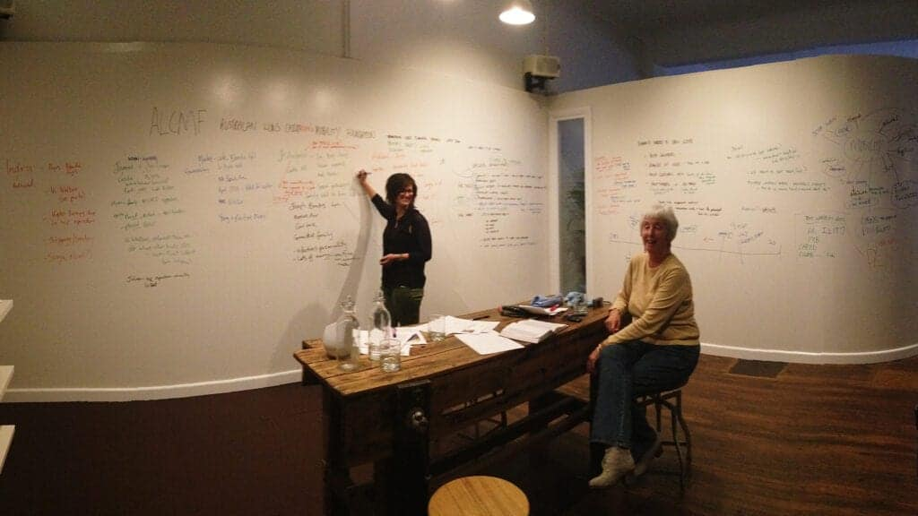 The Good Eye Deer studio brainstorming room at The Production Hub
