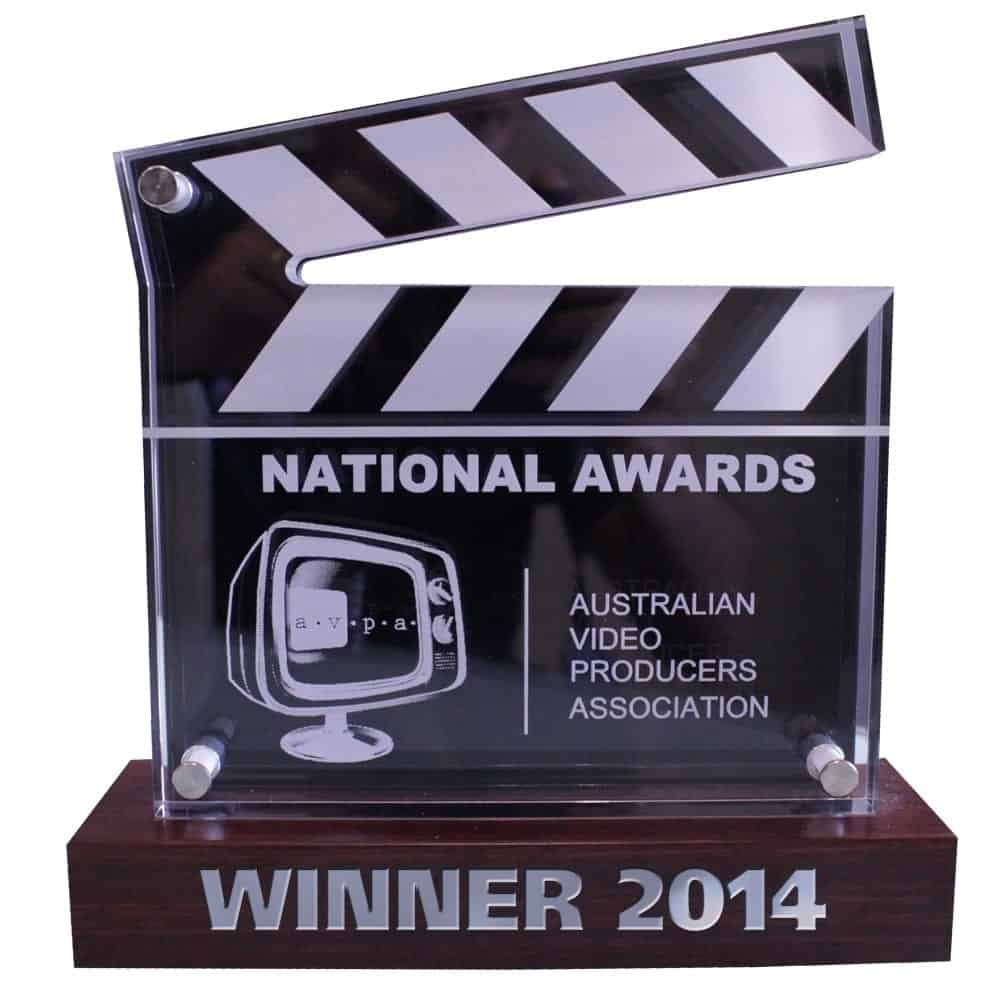 National Video Production Awards Film Producers Newcastle & Sydney NSW