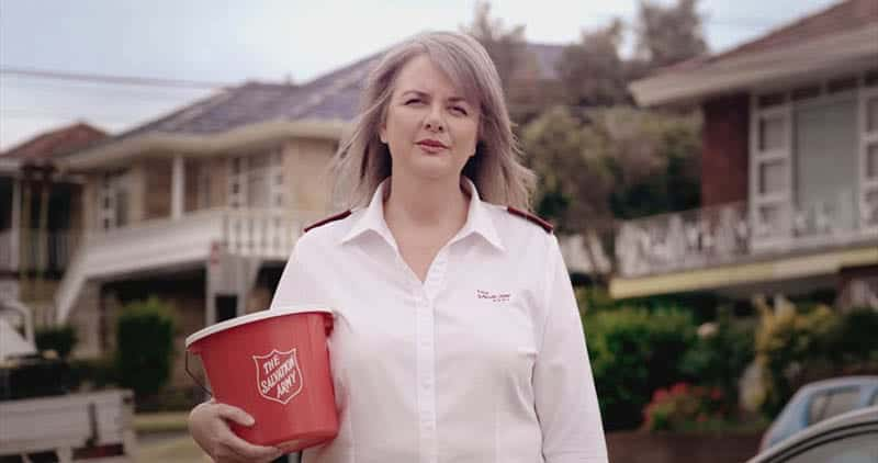 The Salvation Army Red Shield Appeal Video Content Production Sydney & Newcastle NSW